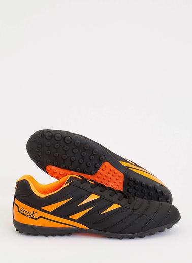 DeFacto Renk Bloklu Halı Saha Ayakkabısı Siyah